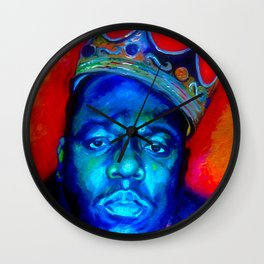 """Biggie Smalls"" Wall Clock"