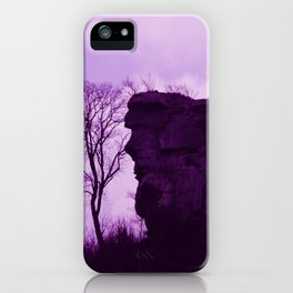 Purple Anebos  - JUSTART © iPhone Case