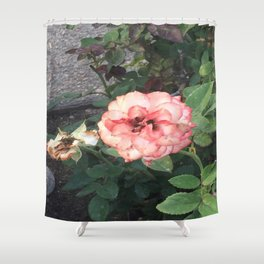 Pink Flower #2 Shower Curtain