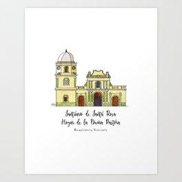 Divina Pastora Art Print