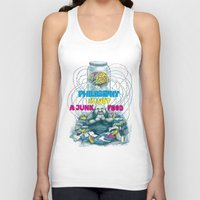 philosophy Tank Tops featuring Philosophy is not a junk food by Ruta13