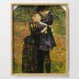John Everett Millais - A Huguenot (A Huguenot on St Bartholomew's Day) Serving Tray
