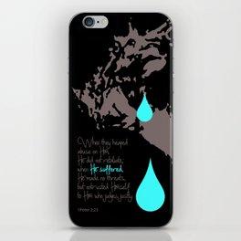 Salvation Tears iPhone Skin
