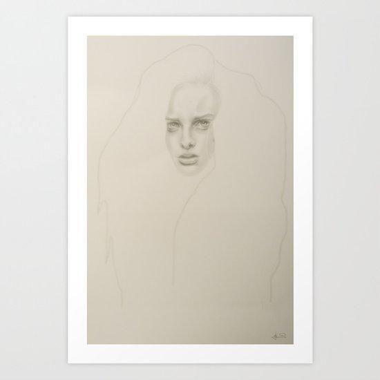 + STAY +  Art Print