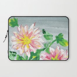 Dahlias for a cloudy day i Laptop Sleeve