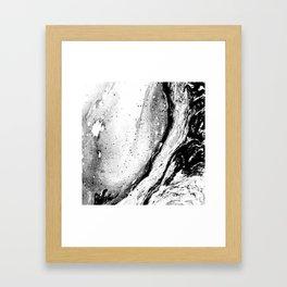 Rustic Marble Framed Art Print