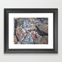 The French Broad Framed Art Print