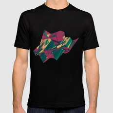 Crystalline 1 Mens Fitted Tee SMALL Black