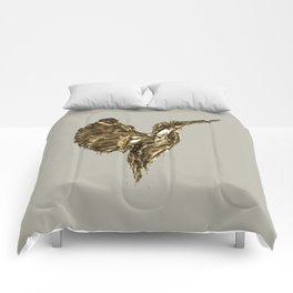 Golden Kingfisher Comforters