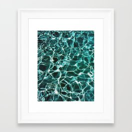 Waiting For Summer #society6 #decor #buyart Framed Art Print