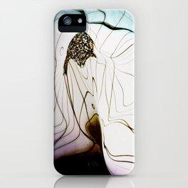 Glacial Foliation iPhone Case