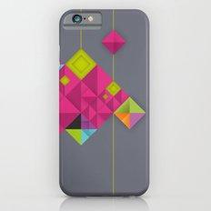 Optical illusion_grey Slim Case iPhone 6s