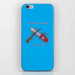 Evil Dead: It's Dangerous to go alone! iPhone Skin