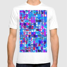 PunchCard 2 MEDIUM Mens Fitted Tee White