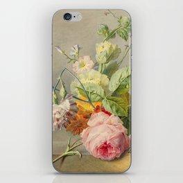 "George Jacobus Johannes van Os ""Floral Still Life"" iPhone Skin"