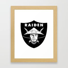 Raiden Raiders Framed Art Print