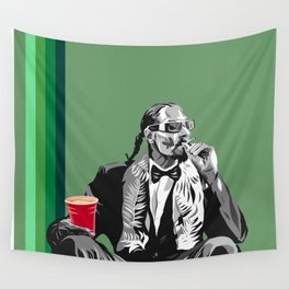 Snoop at the Lounge Wall Tapestry