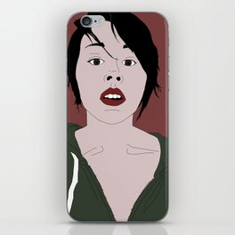 Her words are dripping with genius iPhone Skin