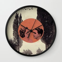 Red #1 Wall Clock