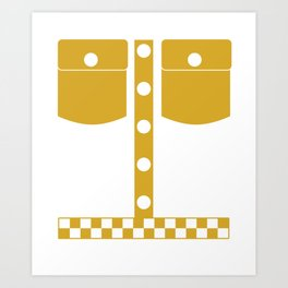 Cab Driver World's Best Taxi Driver Cabman Car Driver Gift Taxi Polo Art Print
