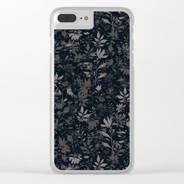 wind flower 1 Clear iPhone Case
