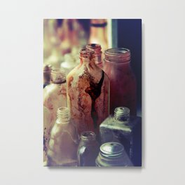 Deadly Potions Metal Print