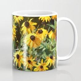 Black-eyed Susan Yellow Flowers Coffee Mug