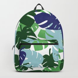 Palm Leaves Pattern Backpack