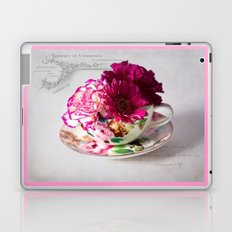 Shabby chic floral Laptop & iPad Skin