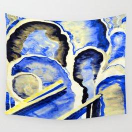 Georgia O Keeffe Blue 1 Wall Tapestry