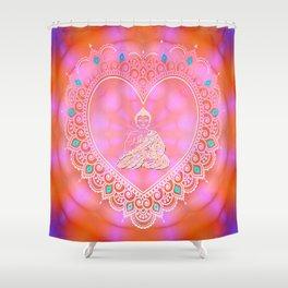 Buddha Icon (Uplifting & Energetic) Shower Curtain