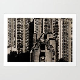 Small Living Boxes Art Print