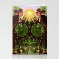 prism Stationery Cards featuring prism  by BOBBY WILKINS
