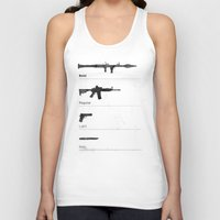 arsenal Tank Tops featuring Typographer's Arsenal by ekirkdesign