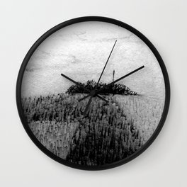 Ile de France Wall Clock