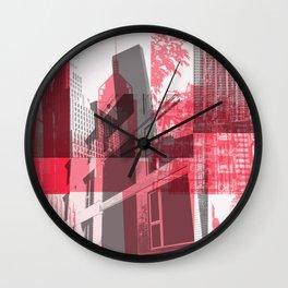 city life New york Wall Clock