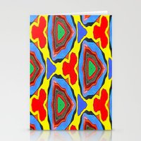 trippy Stationery Cards featuring Trippy by Erin Brekke Conn