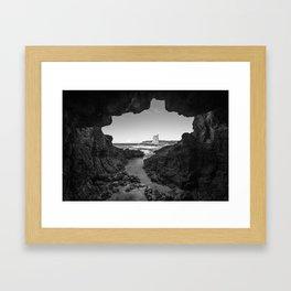 Cathedral Rocks Framed Art Print