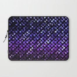 Crystal Bling Strass Purple G323 Laptop Sleeve