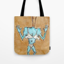 The Blinded Grump. Tote Bag