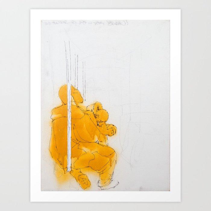 110 South Art Print