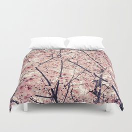 Blizzard of Blossoms Duvet Cover