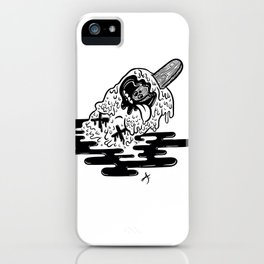 Ice cream dead iPhone Case