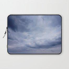 Blue clouds Laptop Sleeve