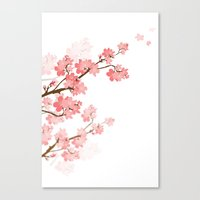cherry Canvas Prints featuring Cherry by Ale Ibanez