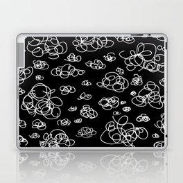 A Squiggle Sky Inverse Laptop & iPad Skin