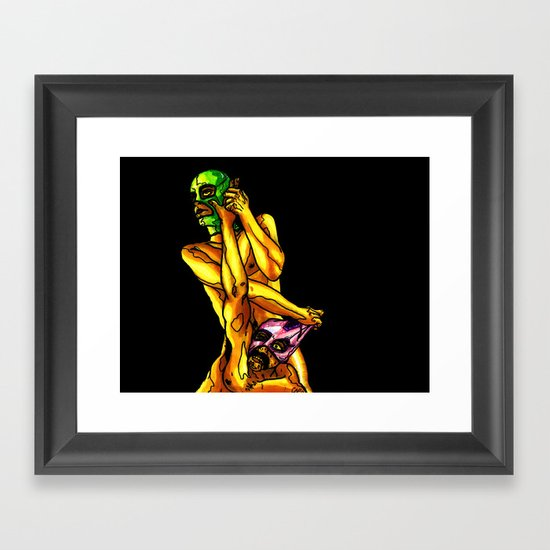 """Raw Power"" by Cap Blackard Framed Art Print"