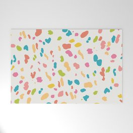 Colorful Animal Print Welcome Mat