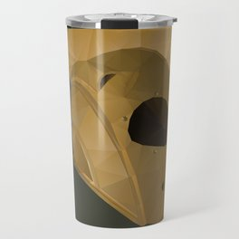 Rocketeer Helmet polygon art Travel Mug