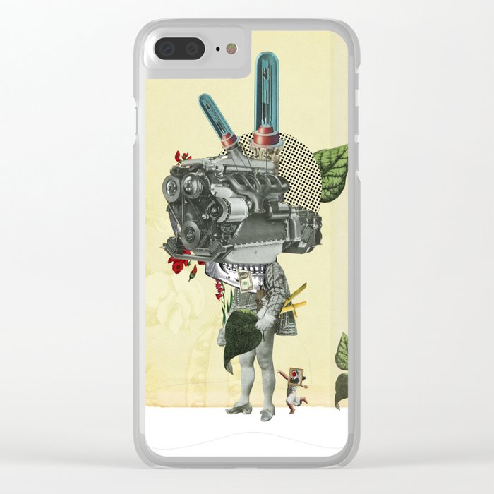 The truth is dead 3 Clear iPhone Case